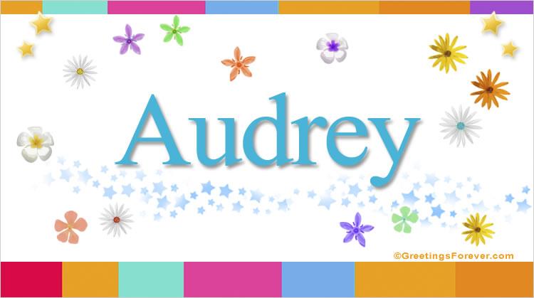 Audrey, imagen de Audrey