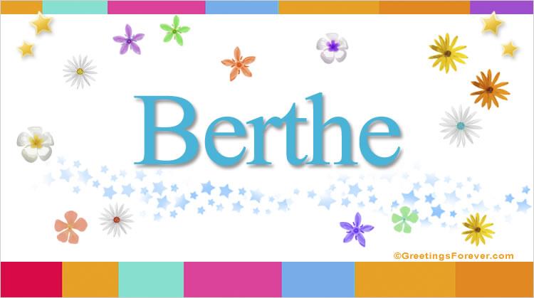 Berthe, imagen de Berthe