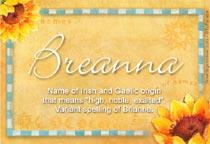 Name Breanna