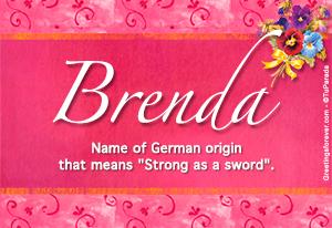 Name Brenda