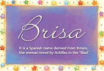 Name Brisa