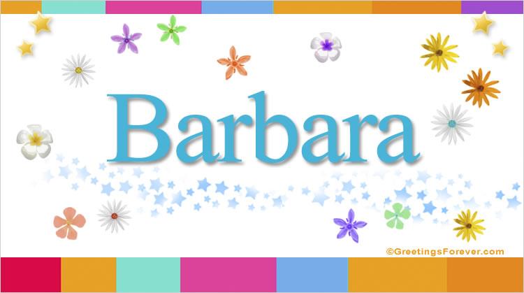 Barbara, imagen de Barbara