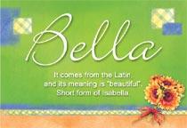 Name Bella
