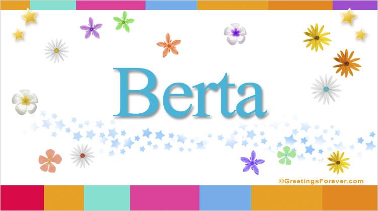 Berta, imagen de Berta