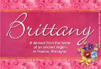 Name Brittany