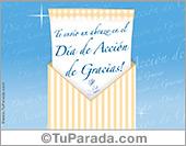 Tarjetas postales: Sobre sorpresa de Acción de Gracias