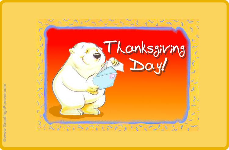 Ecard - Thanksgiving Day