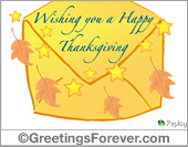 Thanksgiving ecard