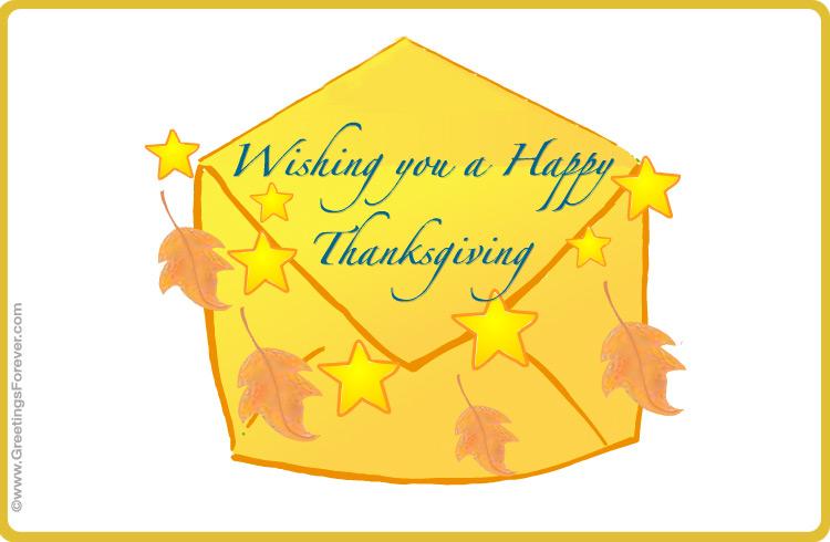 Ecard - Thanksgiving ecard