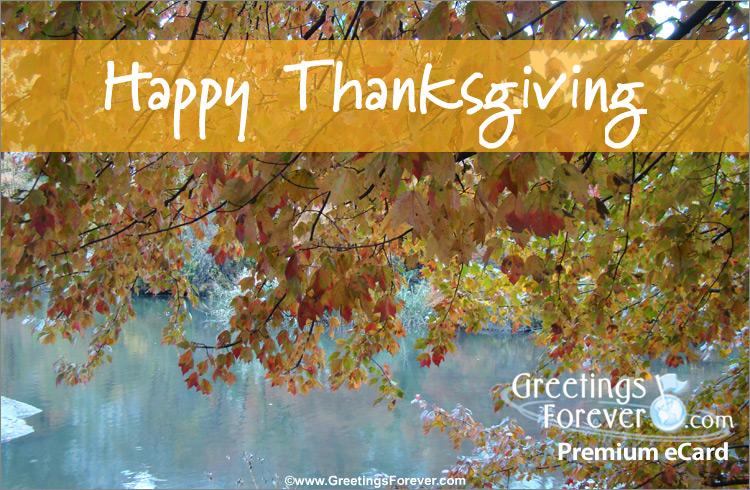 Ecard - Warm Thanksgiving wishes
