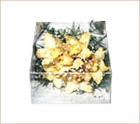 Corsage de orquídeas exóticas en caja