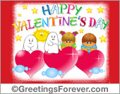 Happy Valentine's Day ecard for you