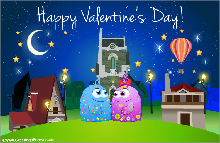 Ecard - Valentine's day egreeting for you