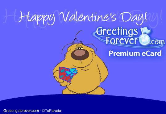 Ecard - Happy Valentine's day