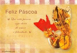 Cartão virtuais de Easter