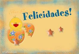 Cartão das felicitações de Páscoa