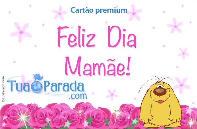 Cartão - Dia da mãe