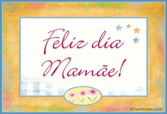Cartão - Cartão de feliz dia