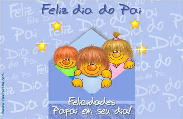 Cartão para o dia do Pai