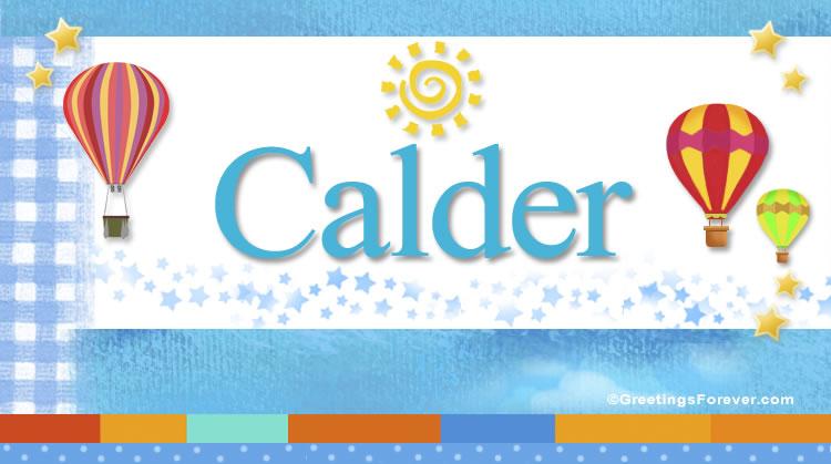 Calder, imagen de Calder