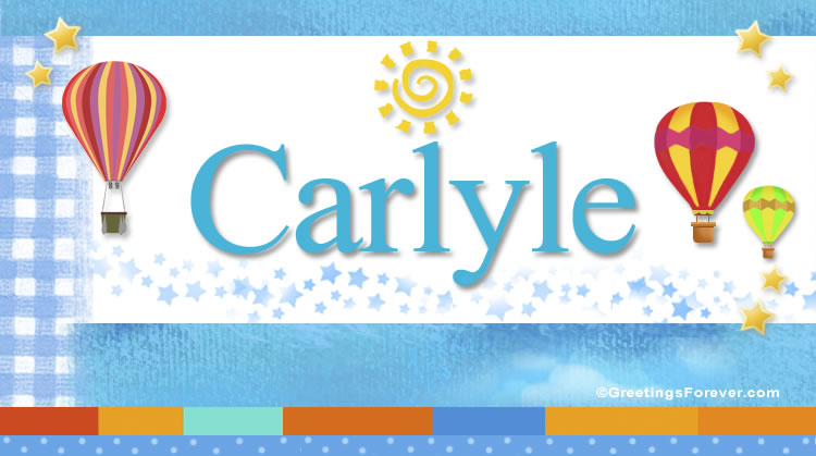 Carlyle, imagen de Carlyle