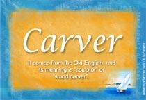 Name Carver