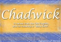 Name Chadwick