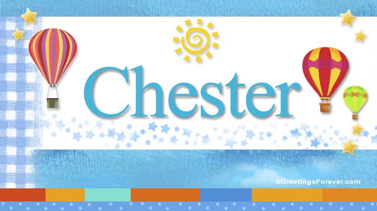 Chester, imagen de Chester