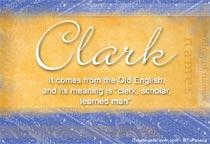 Name Clark