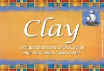 Name Clay