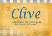 Name Clive