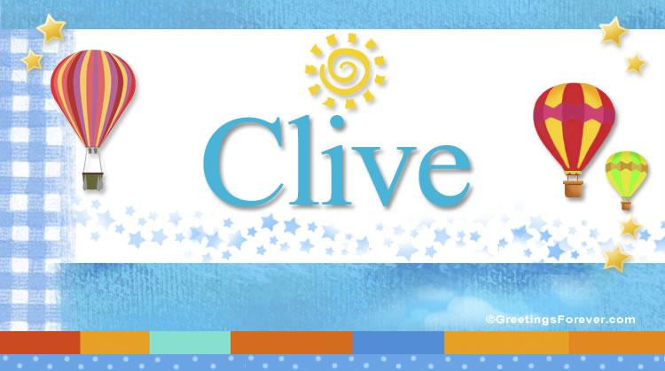 Clive, imagen de Clive