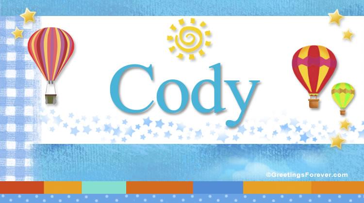 Cody, imagen de Cody