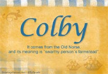 Name Colby