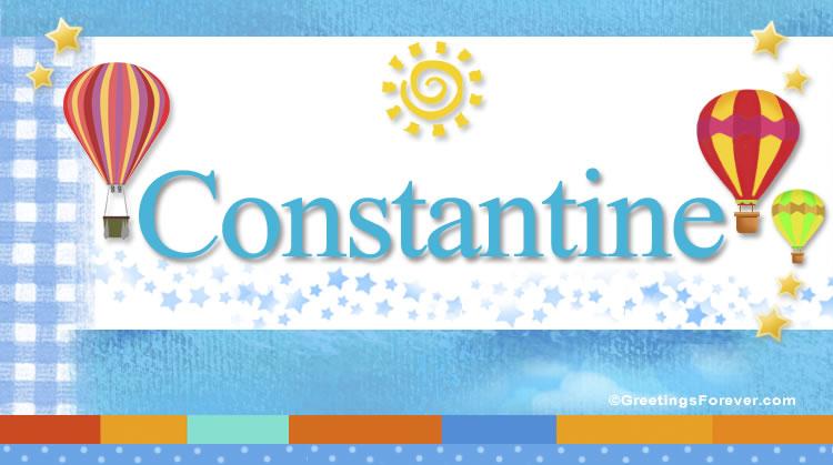 Constantine, imagen de Constantine