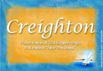 Name Creighton