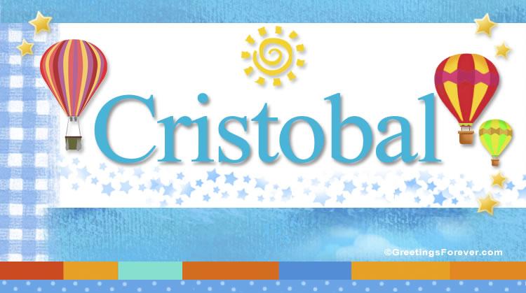 Cristobal, imagen de Cristobal