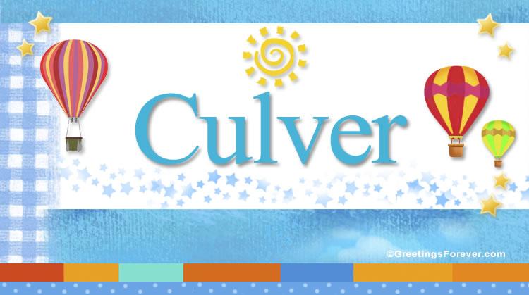 Culver, imagen de Culver