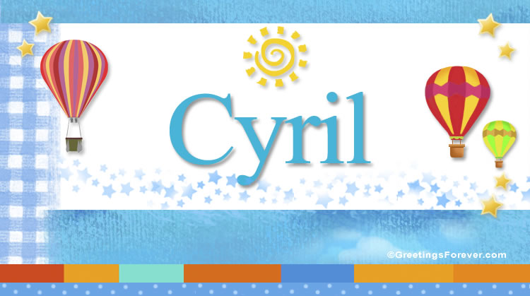 Cyril, imagen de Cyril