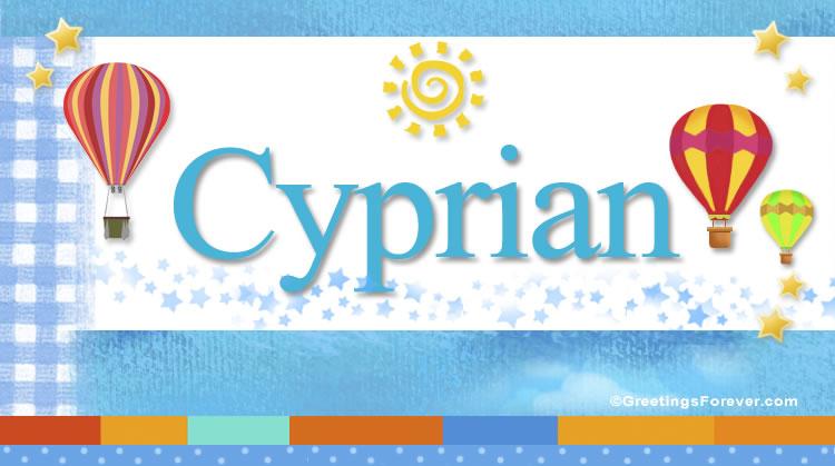 Cyprian, imagen de Cyprian
