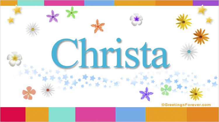 Christa, imagen de Christa