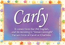 Name Carly