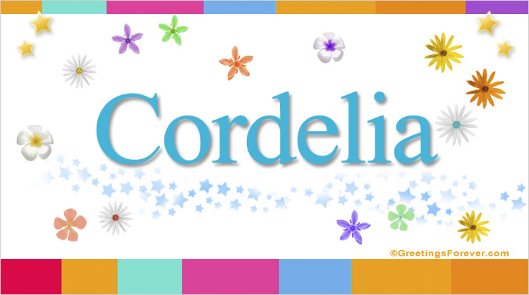 Cordelia, imagen de Cordelia