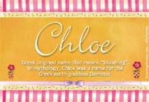 Name Chloe