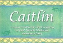 Name Caitlin