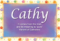 Name Cathy