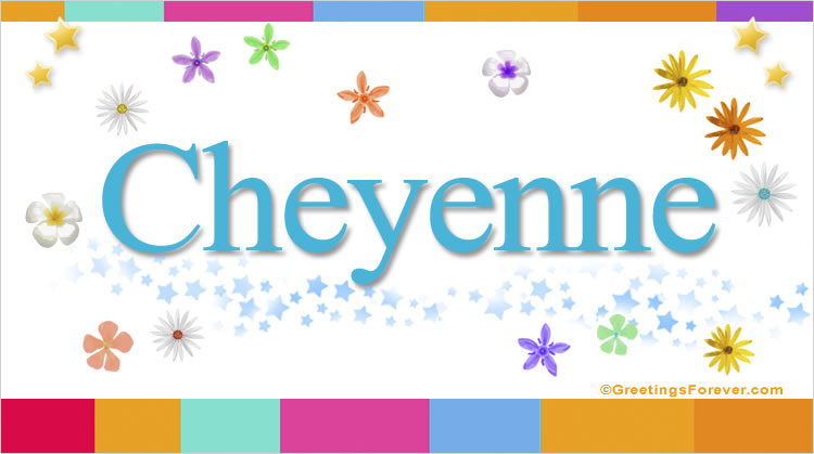 Cheyenne, imagen de Cheyenne