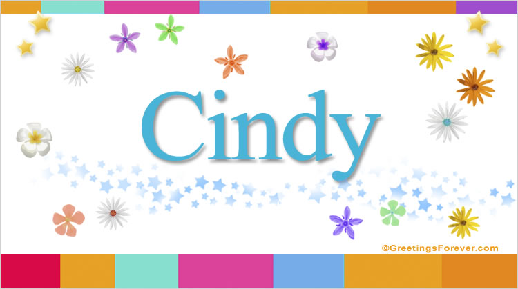 Cindy, imagen de Cindy