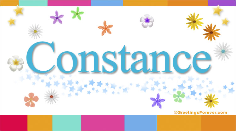 Constance, imagen de Constance