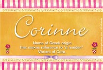 Name Corinne